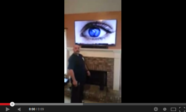 Over Fireplace TV Installation