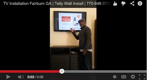 TV Installation Fairburn GA